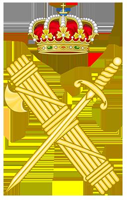 escudo guardia civil de acamedia forma